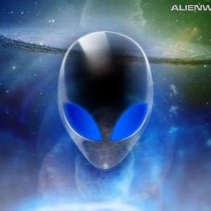 Portrait de alien